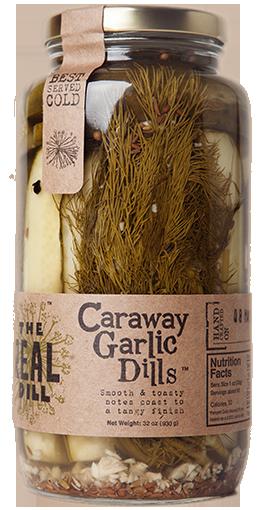 Real Dill Caraway Garlic Dills