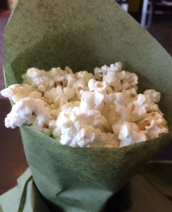 Green Chili Olive Oil Popcorn